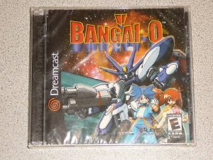 BANGAI-0 BANGAI SEGA DREAMCAST NEW SEALED SHOOTER