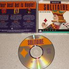 SOLITAIRE HOYLE SIERRA PC IBM CD COMPLETE