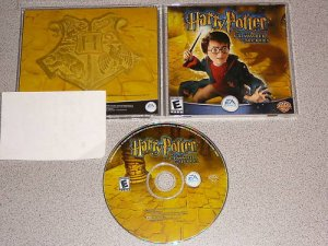 HARRY POTTER CHAMBER SECRETS PC IBM CD WIN COMPLETE