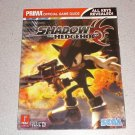 SHADOW THE HEDGEHOG PRIMA STRATEGY GUIDE PS2 XBOX GC