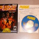 PURGE MATURE GAME 2 BOXED 100% COMPLETE PC CD