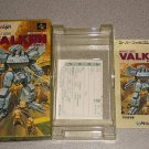 VALKEN BOX INSTRUCTIONS INSERTS ONLY SUPER FAMICOM
