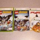 BATMAN LEGO VIDEOGAME & PURE 100% COMPLETE XBOX 360