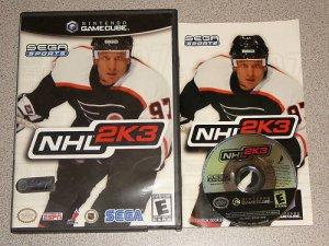 NHL 2K3 HOCKEY RARE NINTENDO GAMECUBE 100% COMPLETE