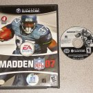MADDEN 07 2007 FOOTBALL GAMECUBE PLAYS ON THE WII
