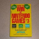 HOW TO WIN AT NINTENDO GAMES #3 SOFTCOVER BOOK NES NEW