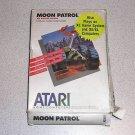 MOON PATROL ATARI XE XL 800 OUTER BOX ONLY VINTAGE