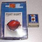 FIGHT NIGHT ATARI XE XL 800 BOXED VINTAGE GAME