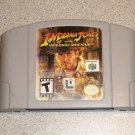 INDIANA JONES INFERNAL MACHINE N64 NINTENDO 64