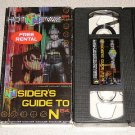 HOT NEWZ N64 INSIDER'S GUIDE TO N64 PROMO VHS RARE