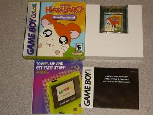 HAMTARO HAM HAMS GAMES & UNITE GAMEBOY ADVANCE 2 GAMES