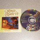 KING'S QUEST VI 6 SIERRA PC IBM CD WIN