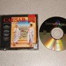CAESAR SIERRA STRATEGY HALL OF FAME PC IBM CD ROM