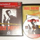 MAX PAYNE 1 ORIGINAL PS2 PLAYSTATION 2 100% COMPLETE