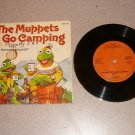 THE MUPPETS GO CAMPING 33 1/3 RPM RECORD BOOK SET