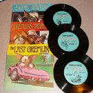 THE GREMLINS 3,4,5  33 1/3 RPM BOOK & RECORD SET