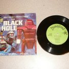 THE BLACK HOLE DISNEY 33 1/3 RPM RECORD BOOK SET