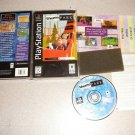 THEME PARK LONG BOX PLAYSTATION PS1 100% COMPLETE