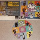 THE SIMS LIVIN' LARGE EXPANSION EA GAMES GAME PC CD