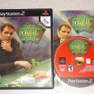 WORLD CHAMPIONSHIP POKER 2 PS2 100% COMPLETE