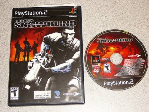 PROJECT SNOWBLIND SNOW BLIND PS2 PLAYSTATION 2