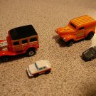 INSIDERS COLLECTION #9 MICRO MACHINES 1990 4 CAR SET