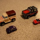 INSIDERS COLLECTION #4 MICRO MACHINES 1990 4 CAR SET
