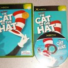 CAT IN THE HAT DR SEUSS XBOX 100% COMPLETE
