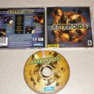 ASTEROIDS UPDATED CLASSIC PC WIN CD COMPLETE