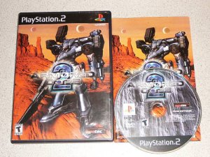 ARMORED CORE 2 PS2 PLAYSTATION 2 100% COMPLETE