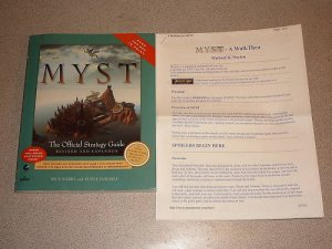 MYST REVISED PRIMA STRATEGY GUIDE PC MAC SATURN MAP
