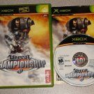 UNREAL CHAMPIONSHIP 1 & 2 XBOX 100% COMPLETE 2 GAMES
