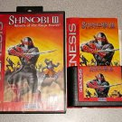 SHINOBI III 3 RETURN OF NINJA MASTER SEGA GENESIS 100%