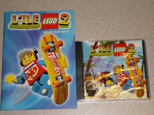 LEGO ISLAND 2 FRENCH VERSION NEW & SEALED PC FRANCOIS