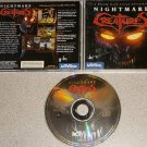 NIGHTMARE CREATURES ACTIVISION WIN 95 PC CD ROM