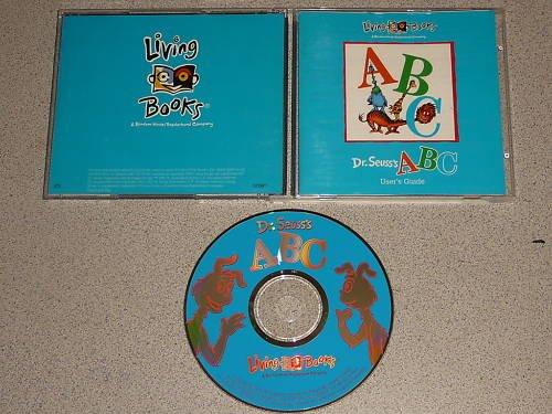 DR SEUSS ABC LIVING BOOKS SOFTWARE WIN PC CD ROM