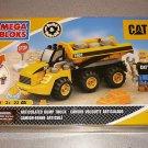 MEGA BLOKS CAT DUMP TRUCK BRAND NEW SEALED BOXED 7801