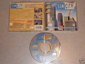 SIM CITY SIMCITY ORIGINAL PC IBM CD ROM WIN VERY RARE
