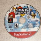 SONIC HEROES PS2 PLAYSTATION 2 EVERYONE