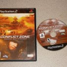 CONFLICT ZONE MODERN WAR STRATEGY PS2 PLAYSTATION 2