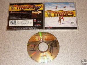 TRIBES 1 ORIGINAL DYNAMIX PC CD WIN COMPLETE 2 DISC