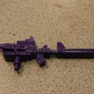 DEVASTATOR LARGE PURPLE GUN 100% G1 TRANSFORMERS ACCS