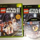 STAR WARS LEGO II ORIGINAL TRILOGY XBOX 100% COMPLETE