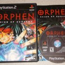 ORPHEN SCION OF DESTINY PS2 PLAYSTATION 2 100% COMPLETE