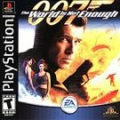007 WORLD IS NOT ENOUGH COMPLETE 100% PLAYSTATION PS1