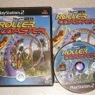 THEME PARK ROLLER COASTER PS2 100% PLAYSTATION 2