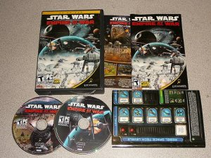 STAR WARS EMPIRE AT WAR PC CD WIN 100% COMPLETE XP