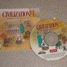CIVILIZATION II 2 ORIGINAL PC CD WIN 95 98 ME 2000 XP