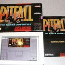 PITFALL MAYAN ADVENTURE 100% BOXED SUPER NINTENDO SNES