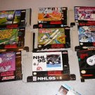 COLLECTION OF BOXES INSTRUCTIONS SUPER NINTENDO SNES